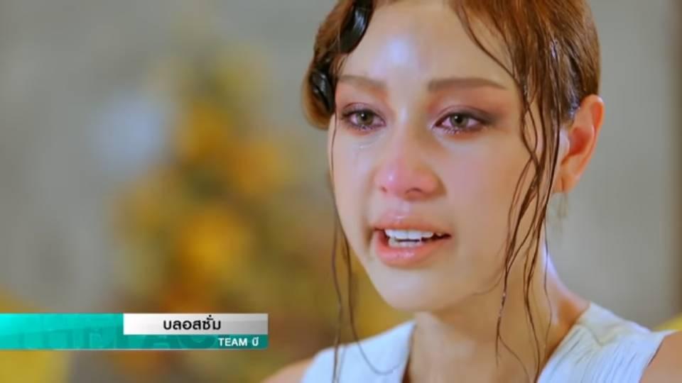 บลอสซั่ม สัมภาษณ์ทั้งน้ำตา กรณีล้มขณะเดิน ในรายการ The Face Thailand Season 3