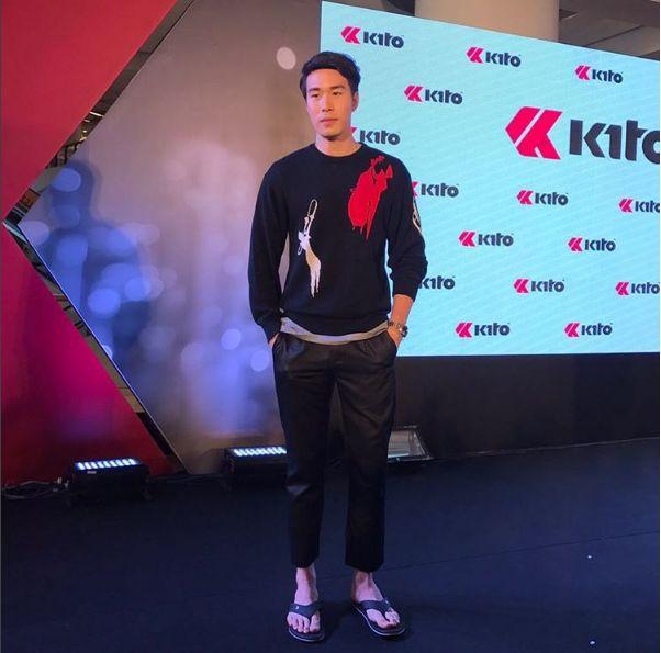ซัน ประชากร ให้สัมภาษณ์งาน kito step with style ที่เซ็นทรัล พระราม 9 ยืนยันไม่เลิก ต้นหอม ศกุนตลา-03