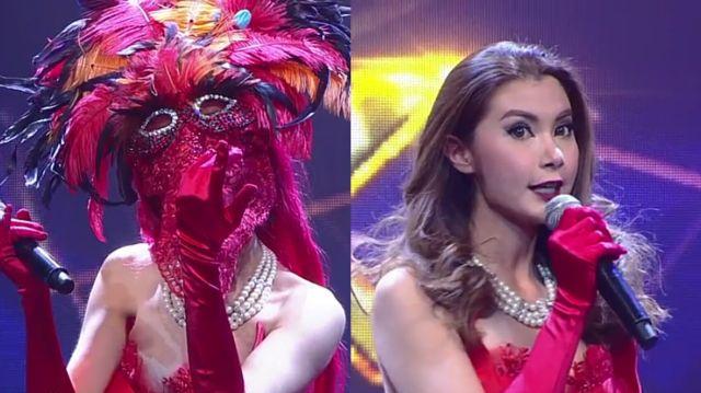 The Mask Singer หน้ากากนักร้องซีซัน 1-กรุ๊ปA-01-หน้ากากฟินิกซ์ จ๊ะจ๋า-พริมรตา