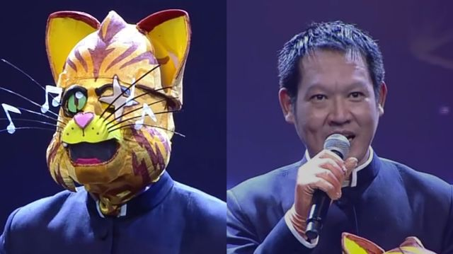 หน้ากากนักร้องซีซัน 1-กรุ๊ปA-02-หน้ากากแมวตาเดียว สุเมธ องอาจ