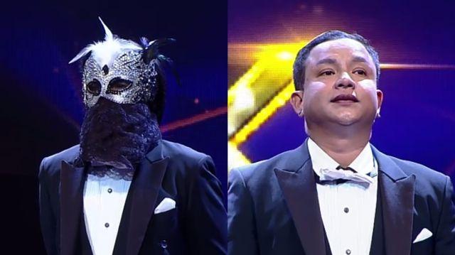 หน้ากากนักร้องซีซัน 1-กรุ๊ปA-04-หน้ากากทักซิโด้-จั๊กกะบุ๋ม-เชิญยิ้ม