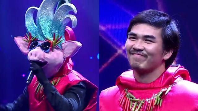 หน้ากากนักร้องซีซัน 1-กรุ๊ปA-05-หน้ากากน้ำพริกหมู สงกรานต์ เดอะวอยซ์