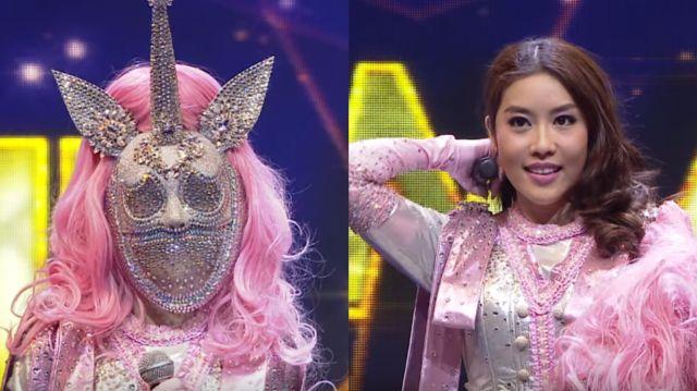 หน้ากากนักร้องซีซัน 1-กรุ๊ปA-07-หน้ากากโพนี่ แปม ไกอา
