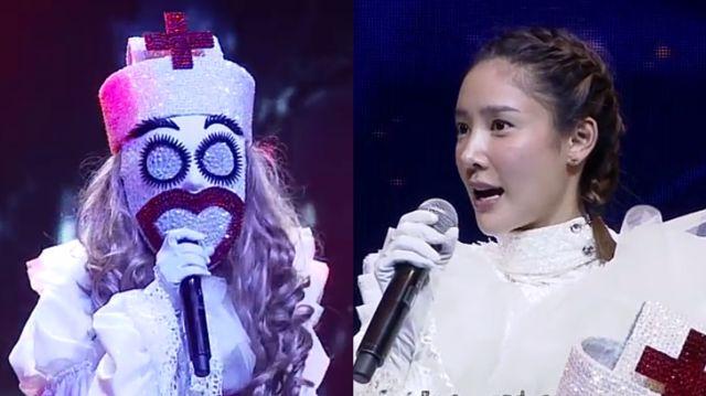 หน้ากากนักร้องซีซัน 1-กรุ๊ปb-01-หน้ากากพยาบาล-แตงโม-นิดา