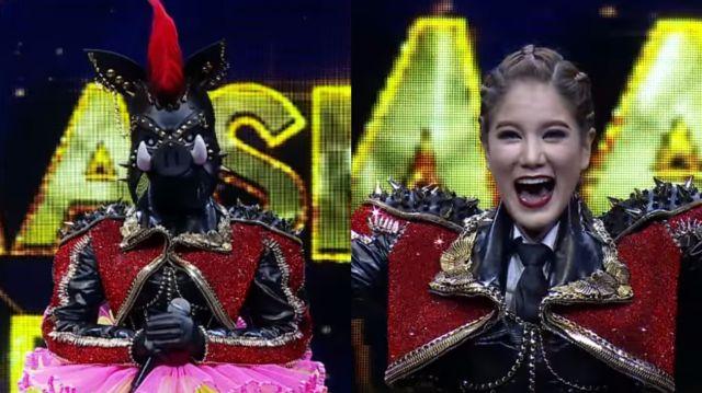 หน้ากากนักร้องซีซัน 1-กรุ๊ปb-07-หน้ากากหมูป่า ก้อย รัชวิน