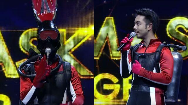 หน้ากากนักร้องซีซัน 1-กรุ๊ปc-02-หน้ากากดำน้ำ กวาง ab normal