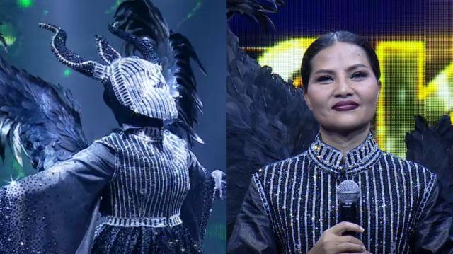 หน้ากากนักร้องซีซัน 1-กรุ๊ปc-03-หน้ากากแม่มด สุนารี ราชสีมา