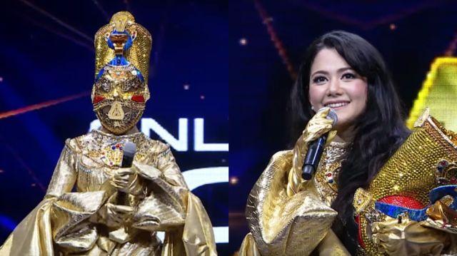 หน้ากากนักร้องซีซัน 1-กรุ๊ปc-05-หน้ากากอียิปต์ แนนซี่ นันทพร