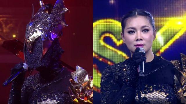 หน้ากากนักร้องซีซัน 1-กรุ๊ปc-08-หน้ากากมังกร บุ๋ม ปนัดดา