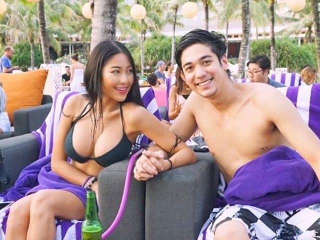 หวาย กามิกาเซ่ กับแฟนหนุ่มลูกครึ่งไทยอิตาเลียน สวีทกันที่อินโดนิเซีย