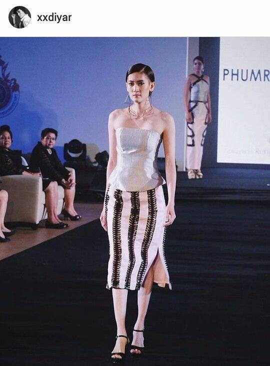 ไดญา นางแบบทอมบอยคนเดียวของประเทศไทย กับลุคพริตตี้วูแมนบนแคทวอร์ค