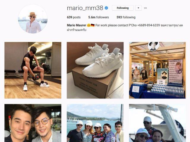 10-mario_mm38 มาริโอ เมาเร่อ เป็นดาราชายที่มีผู้ติดตามมากที่สุดเป็นอันดับที่สอง รองจากบอย ปกรณ์