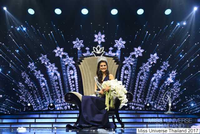 มารีญา บุ๋งบุ๋ง คว้าตำแหน่ง Miss Universe Thailand 2017-2