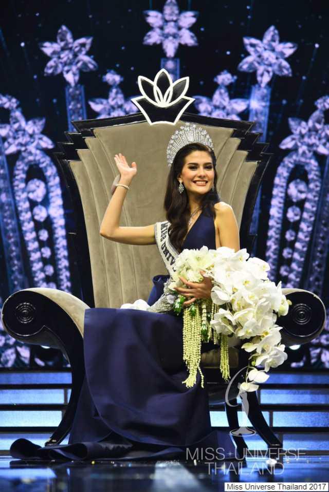 มารีญา บุ๋งบุ๋ง คว้าตำแหน่ง Miss Universe Thailand 2017