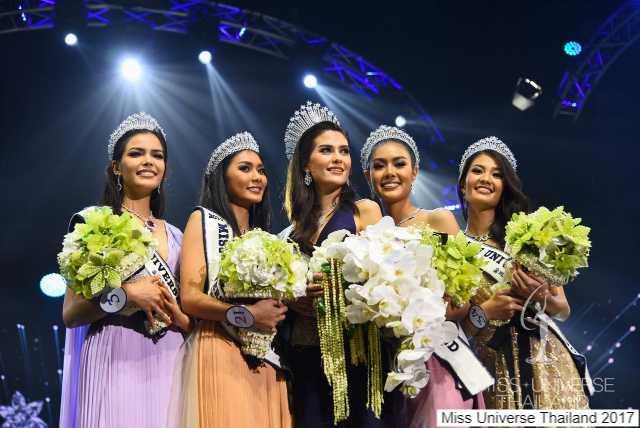 5 สาวงามติด 5 อันดับ Miss Universe Thailand 2017-1