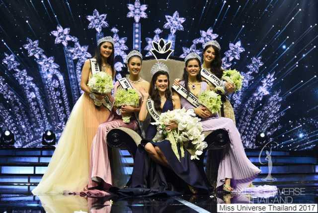5 สาวงามติด 5 อันดับ Miss Universe Thailand 2017-3