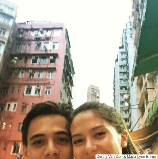 Denny Van Dun - Maria Lynn Ehren เดนนี่แฟน มารีญา ปุ๋งบุ๋ง นางสาวไทย 2017 -5