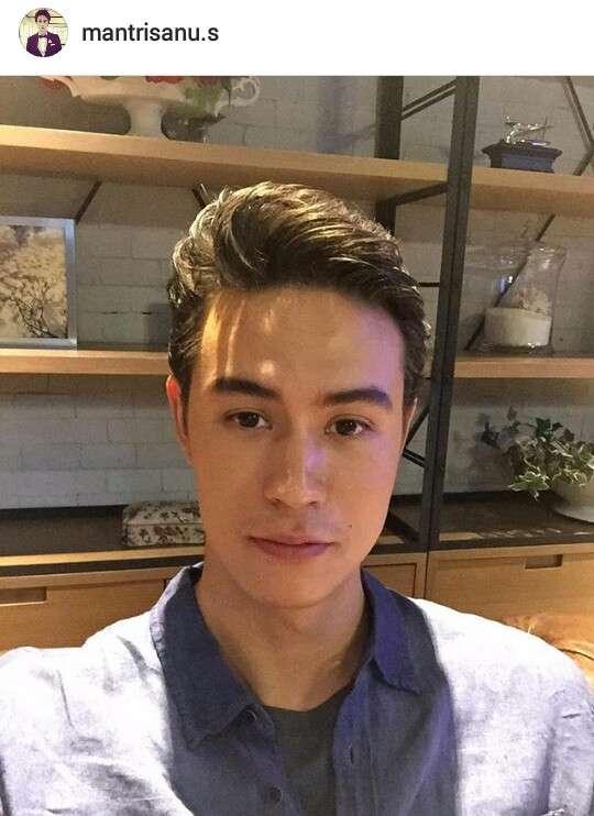 mantrisanu.s เปิดวาร์ป แมน teampeach ใน The Face Men Thailand