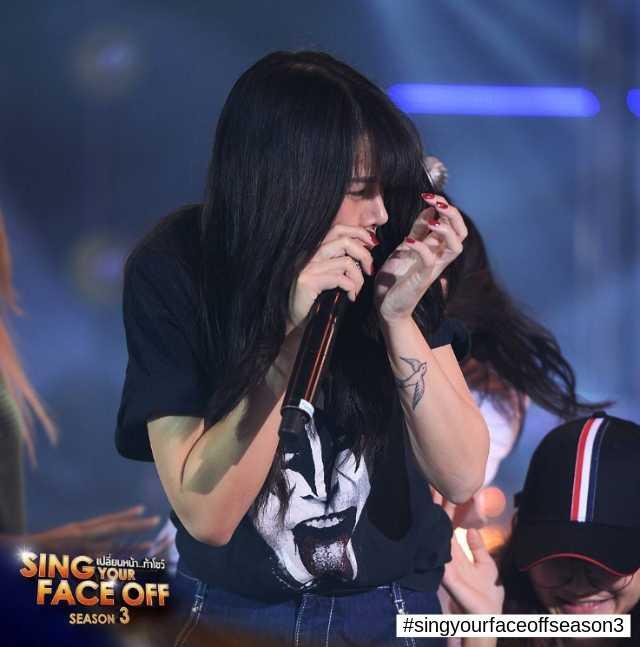 ซานิ AF ในรายการ Sing Your Face Off ซีซั่น 3