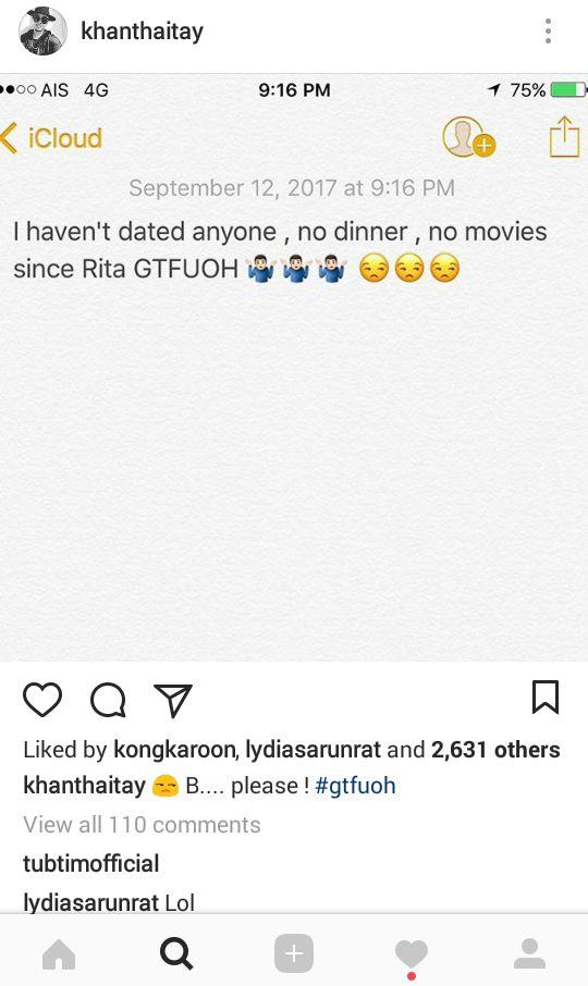 ขันเงิน ยืนยันไม่เคยออกเดท กินข้าว ดูหนังกับใคร นับตั้งแต่เลิกกับ ศรีริต้า เจนเซ่น
