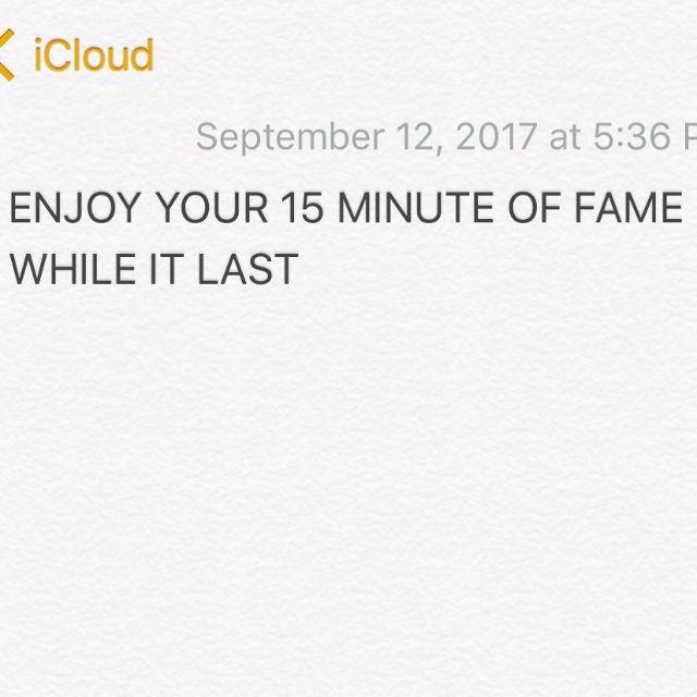 ขันเงิน ไทยเทเนี่ยม เขียนถึง เฟมัส เฌอร์ลิน enjoy your 15 minute of fame while it last