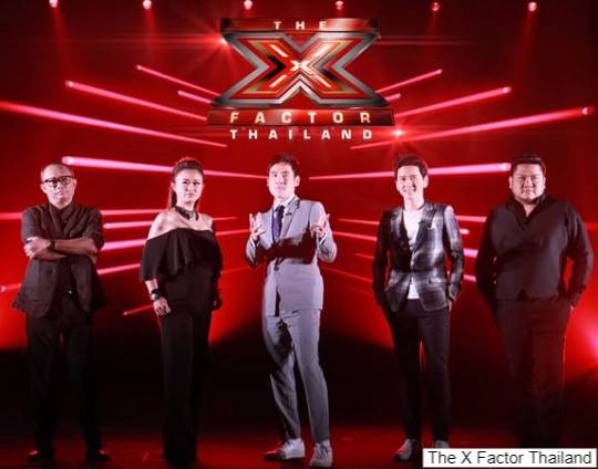 รายการ the x factor thailand