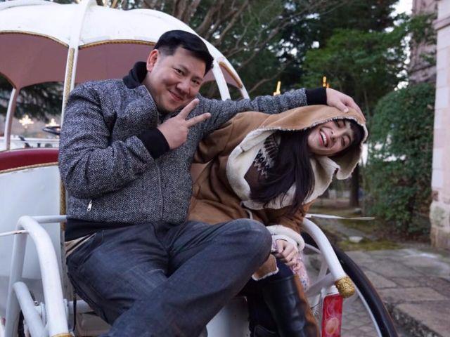 พิ้งกี้ สาวิกา ไชยเดช กับสามี ไปเที่ยวที่ประเทศ ญี่ปุ่น