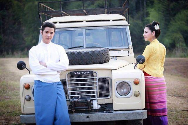 มาริโอ้ กับ ใหม่ ดาวิกา ในละคร บ่วงบรรจถรณ์