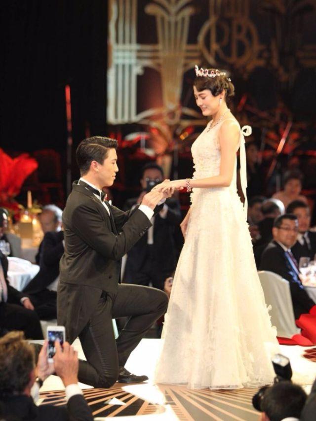 ป๊อก กับมาร์กี้ ราศี ซ้อมแต่งงาน