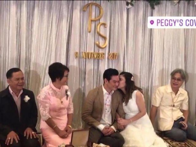รูป งานแต่งงาน ชาคริต แย้มนาม กับ แอน ภัททิรา รุ่งโรจน์ รูปที่ 008
