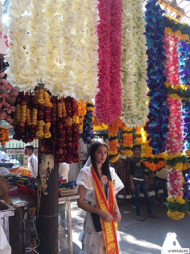 ญาญ่า อุรัสยา ที่ มุมไบ ประเทศอินเดีย
