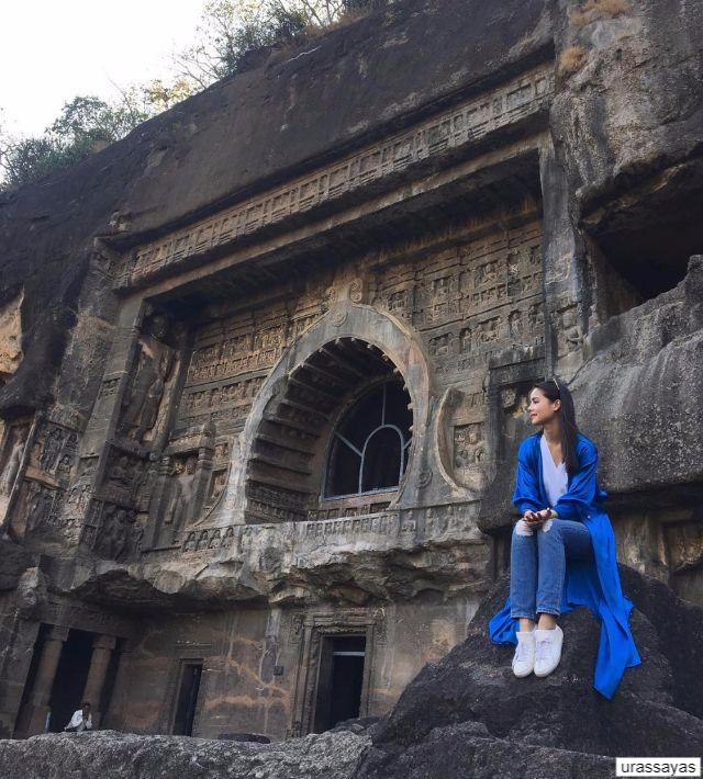 ญาญ่า อุรัสยา เที่ยวอินเดีย กับ bangkokairway