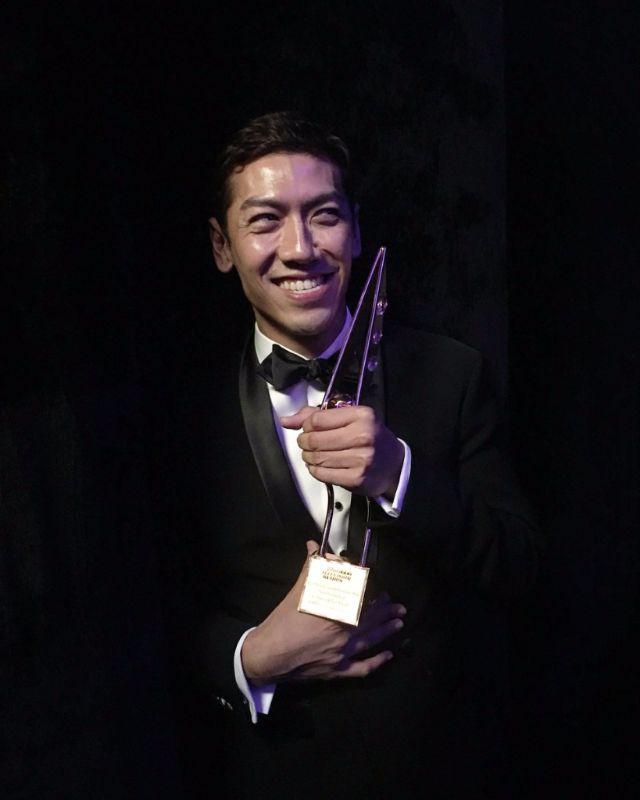 ป๋อมแป๋ม ได้รับรางวัล best entertainment presenter จาก ata