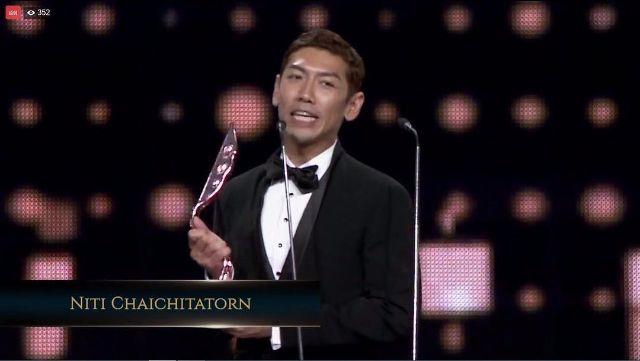 ยายป๋อมแป๋ม ได้รับรางวัล best entertainment presenter จาก ata