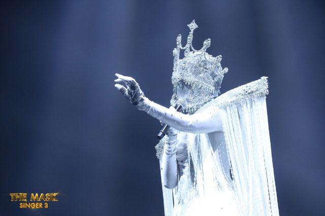 หน้ากากมงกุฎเพชร ในรายการ the mask singer 3