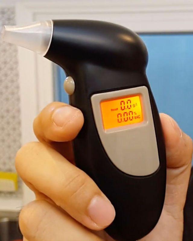 เครื่องตรวจวัดปริมาณแอลกอฮอล์ เมาแล้วขับ