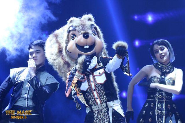 หน้ากากกระรอก ในรายการ หน้ากากนักร้อง the mask singer 3