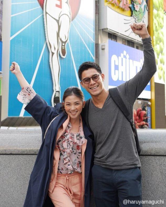 ฮารุ ยามากูชิ และ กาย รัชชานนท์ ที่ ญี่ปุ่น