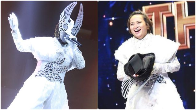 เฉลย หน้ากากนกพิราบ คือ แยม ฐาปนีย์ เอียดศรีไชย the mask singer 4