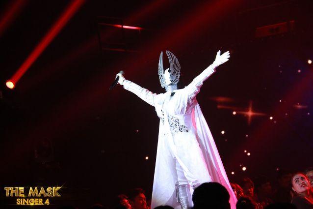 เฉลย หน้ากากนกพิราบ คือ แยม ฐาปนีย์ the mask singer 4