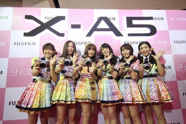 bnk48 fuji x-a5