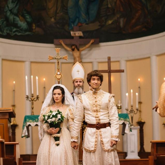 แม่มะลิ ฟอลคอน แต่งงาน บุพเพสันนิวาส