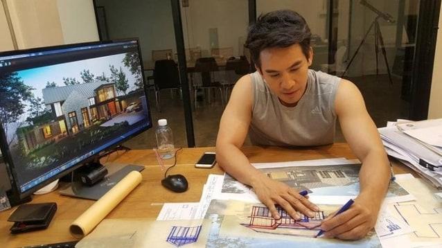 โป๊ป ธนวรรธน์ กับการออกแบบบ้านหลังใหม่ อีกความสามารถ ที่หลายคนไม่เคยรู้