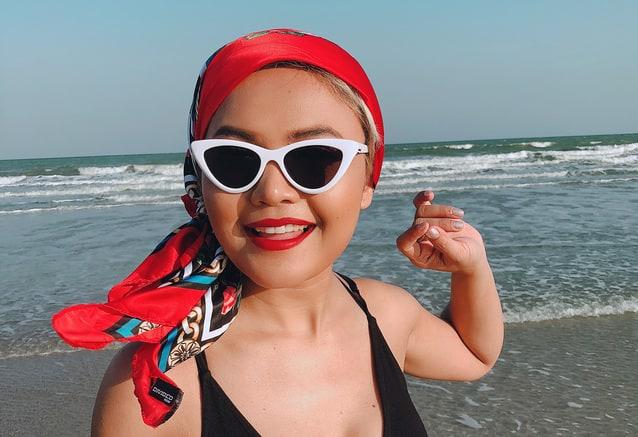 ตั๊กแตน ชลดา ชุดว่ายน้ำ