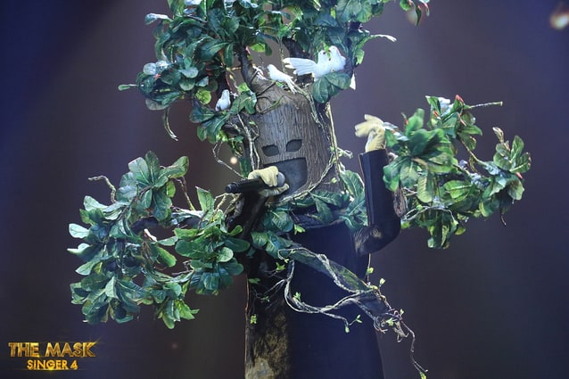 เฉลย หน้ากากต้นไม้ คือ แพรว คณิตกุล