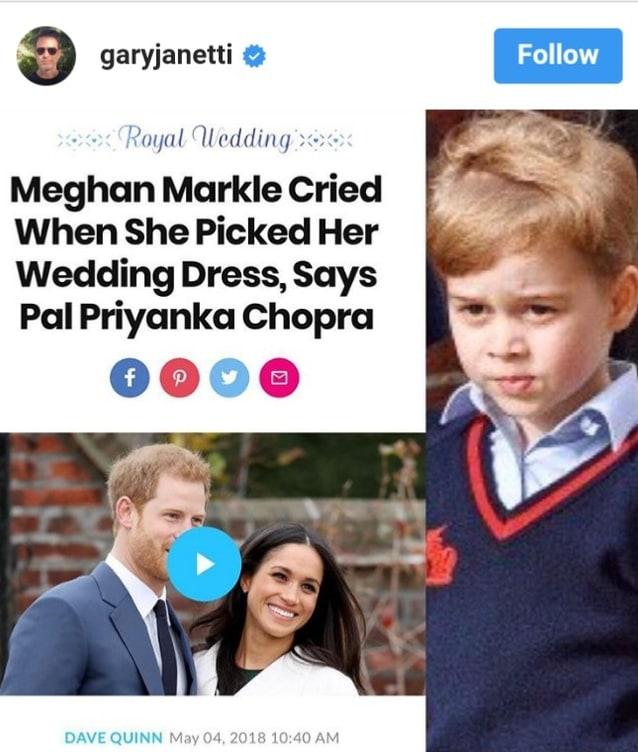 10 ไอจีวงใน เพื่อติดตาม พิธีเสกสมรส เจ้าชายแฮร์รี่ - เมแกน มาร์เคิล