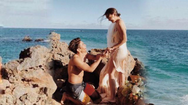 แหวนวงที่สอง ! เจนี่ ตอบตกลง มิกกี้ ขอแต่งงานที่แอลเอ เป๊ะตามข่าวลือ