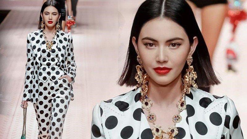 ใหม่ ดาวิกา เลิศเลอบนรันเวย์ Milan Fashion Week 2018