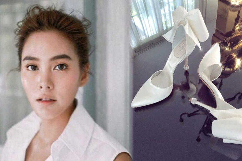 เจนี่ เทียนโพธิ์สุวรรณ์ โชว์รองเท้าเจ้าสาวสุดเวอร์วัง สั่งทำพิเศษจากแบรนด์ระดับโลก
