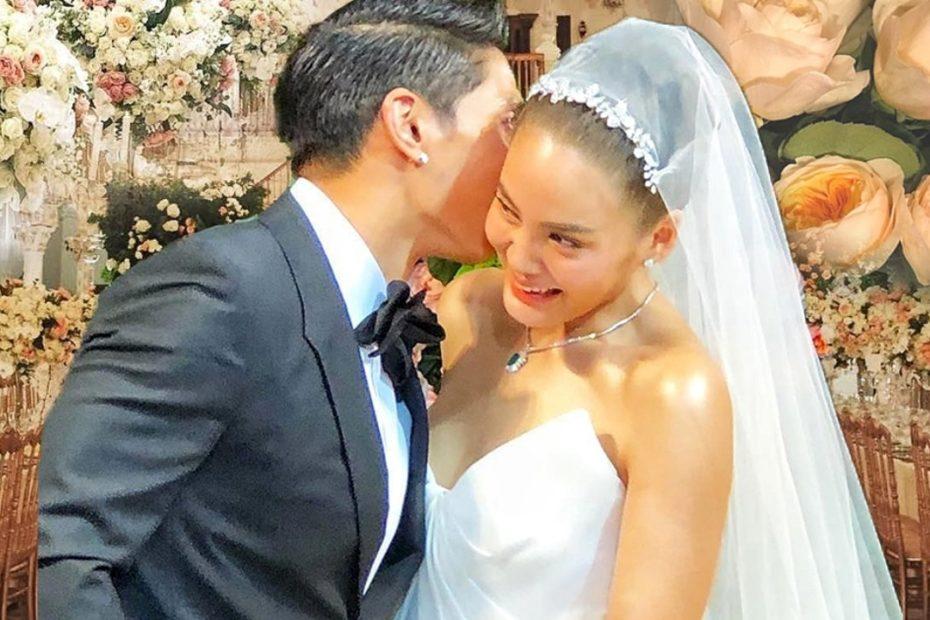 งานแต่ง เจนี่-มิกกี้ จัดดอกไม้เงินล้าน มอบแหวนประจำตระกูลให้ 4 วง